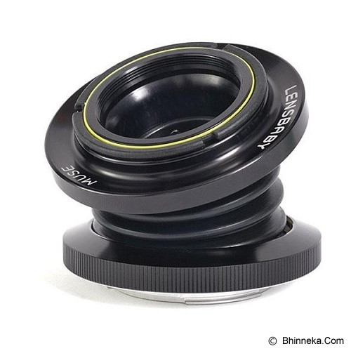 LENSBABY Muse for Nikon w/ Double Glass Optic [LBM2N] - Camera Slr Lens